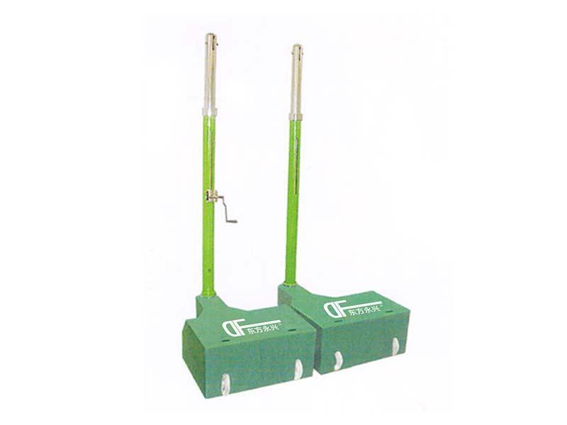移动式铸铁配重排球柱
